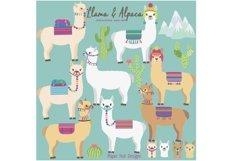 Llama and Alpaca Clipart Product Image 1