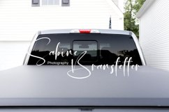 Styled Stock Photography Rear/Back Window Truck/Car Mockup Product Image 1