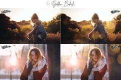 60 Golden Bokeh lights Effect Photo Overlay, Wedding Overlay Product Image 6