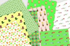 Spring Gardening Digital Paper Pack Product Image 3