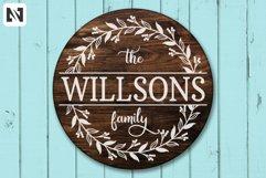 Family Monogram Svg Bundle, Porch Sign Svg, Best Seller Svg Product Image 5