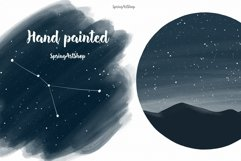 Moon Phases and ConstellatiDigital art High quality clipart Product Image 6