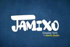 Jamixo Display font Product Image 1