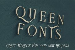 Queen - Display Font Product Image 5