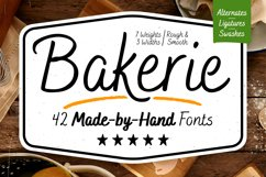 Bakerie Complete Font Family Product Image 1