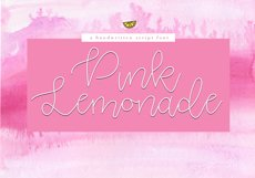 Pink Lemonade - Script Font Product Image 1