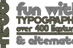 Nedo typeface layout 8