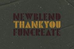 Pinmold - Modern Stencil Font Product Image 3