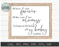 Baby SVG Bundle, Sublimation PNGs and Printables Product Image 3