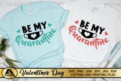 Valentines SVG Covid 2020 SVG Quarantine Valentine's Day SVG Product Image 1