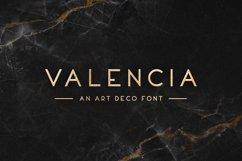 Valencia Typeface Product Image 1