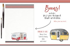 Watercolor Clip Art - Campers Product Image 2