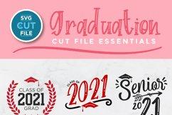 graduation 2021 svg file - a class of 2021 senior svg bundle Product Image 2