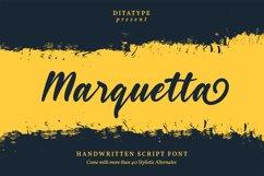 Marquetta Handwritten Font Product Image 1