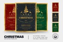 Christmas Invitation Template V1 Product Image 2