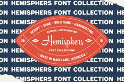Hemisphers Font Collection Product Image 5