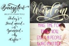 Web Font Bungalow Product Image 6