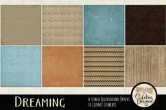Digital Scrapbook Kit - Dreaming Fall Clipart Elements Product Image 3