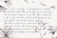 Morning Mood, calligraphy hand written font Product Image 6
