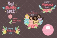 Mother's Day Clip Art Digital Sticker Product Image 3