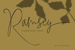 Ramsey Signature Product Image 1