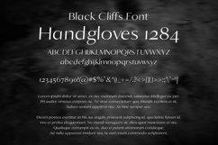 Black Cliffs Font Product Image 2