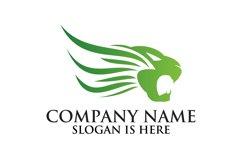Lion logo design template ,Elegant lion head logo Product Image 4