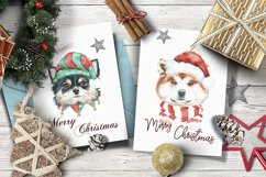 Christmas Animal Creator.Watercolor Dogs & Cats Product Image 4