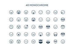Simple Emoticons in 2 styles Product Image 3