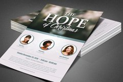 The Hope of Christmas Church Flyer Product Image 7
