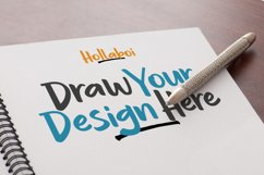 Hollaboi - A Hand-Drawn Brush Font Product Image 5