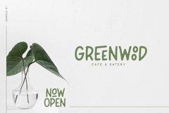 Leafy Plant Typeface Product Image 5