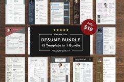 Job Seeker's Resume Bundle Product Image 1