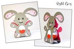 Animal Easter egg holder bundle SVG / DXF / EPS files. Product Image 3