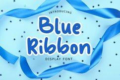 Blue Ribbon Fun Display Font Product Image 1