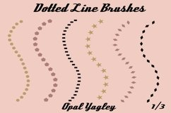 18 Dotted Lines Procreate Brushes Product Image 2