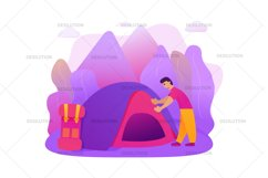Hiking Camping Tent Product Image 3