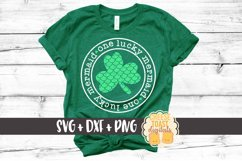 One Lucky Mermaid - Mermaid St Patrick's Day SVG PNG DXF Product Image 1