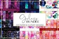 Galaxy paper BUNDLE digital paper pattern Product Image 2