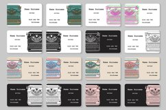 Business Cards with typewriters Product Image 2