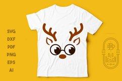 Christmas SVG - Cute Reindeers SVG Chris Bundle Product Image 4