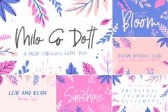The Floral Craft Font Bundle Product Image 6
