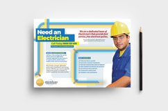 Electrician Flyer Template Product Image 1