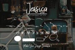Web Font Jessica Script Product Image 3