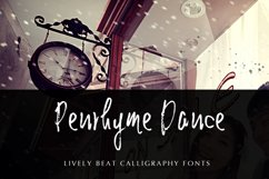 Penrhyme Calligraphy Font Product Image 3