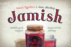 Jamish Font & Mockup Product Image 1