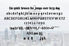 Bigcity   Modern Typeface Font Product Image 5