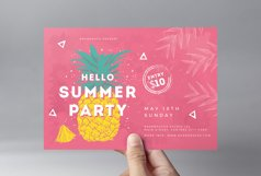 Minimal Summer Flyer Template Product Image 3