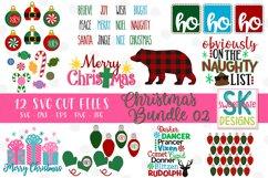 Christmas SVG Bundle - 12 - SVG DXF EPS PNG JPG Product Image 1