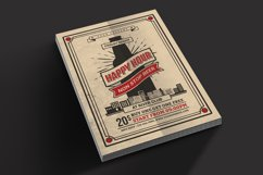 Happy Hour Beer Flyer Product Image 2